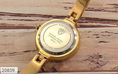 تصویر ساعت رمانسون Romanson طلائی مجلسی زنانه - شماره 4
