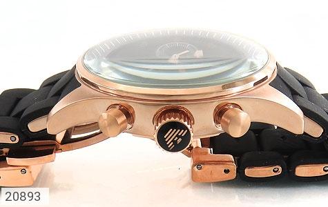 عکس ساعت امپریو آرمانی emporio armani بند رابر زنانه - شماره 2