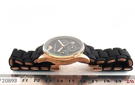 تصویر ساعت امپریو آرمانی emporio armani بند رابر زنانه - شماره 5
