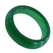 انگشتر عقیق حلقه رینگ سنگی سبز
