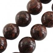 تسبیح چوب 33 دانه دارچین خوش عطر و ارزشمند