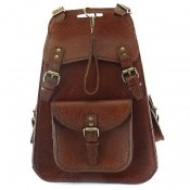 کیف چرم طبیعی کوله پشتی لاکچری