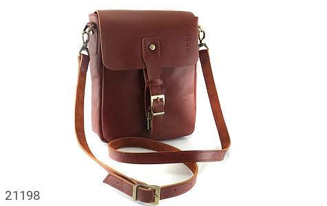 تصویر کیف چرم طبیعی دوشی اسپرت قهوه ای خوش رنگ - شماره 1