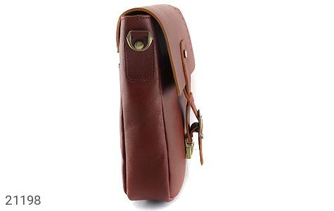 تصویر کیف چرم طبیعی دوشی اسپرت قهوه ای خوش رنگ - شماره 4