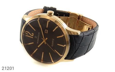تصویر ساعت رمانسون بند چرمی Romanson کلاسیک مردانه - شماره 2