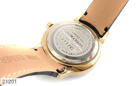 تصویر ساعت رمانسون بند چرمی Romanson کلاسیک مردانه - شماره 5