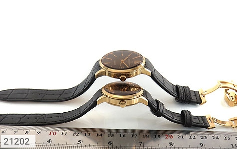 عکس ساعت رمانسون بند چرمی ست Romanson کلاسیک - شماره 5