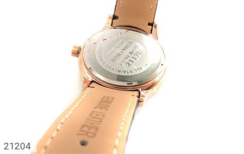 عکس ساعت بند چرمی رمانسون Romanson کلاسیک زنانه - شماره 4
