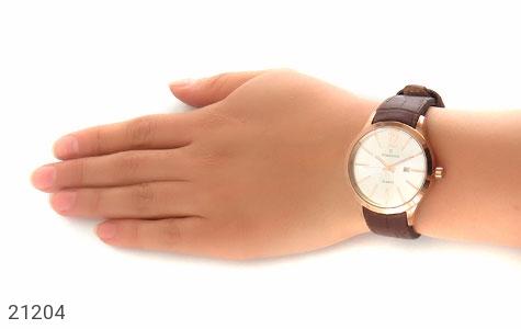 عکس ساعت بند چرمی رمانسون Romanson کلاسیک زنانه - شماره 7