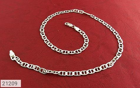 تصویر زنجیر نقره اسپرت 45 سانتی - شماره 1