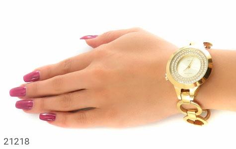 تصویر ساعت رمانسون Romanson نگین دار مجلسی بند حلقه ای زنانه - شماره 6