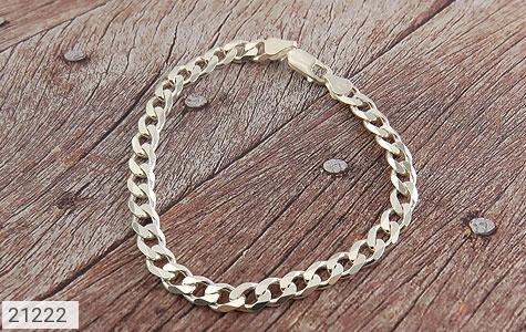 تصویر دستبند نقره طرح حلقه ای فاخر - شماره 2