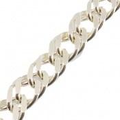 دستبند نقره طرح بافت حلقه ای