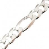 زنجیر نقره جذاب و اسپرت 45 سانتی