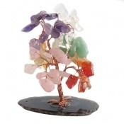 تندیس چندنگین سنگ درمانی طرح درختچه زیبا