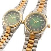 ساعت رولکس ست Rolex طرح دیت جاست