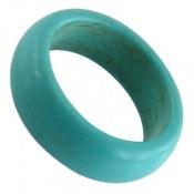 انگشتر فیروزه تبتی زنانه