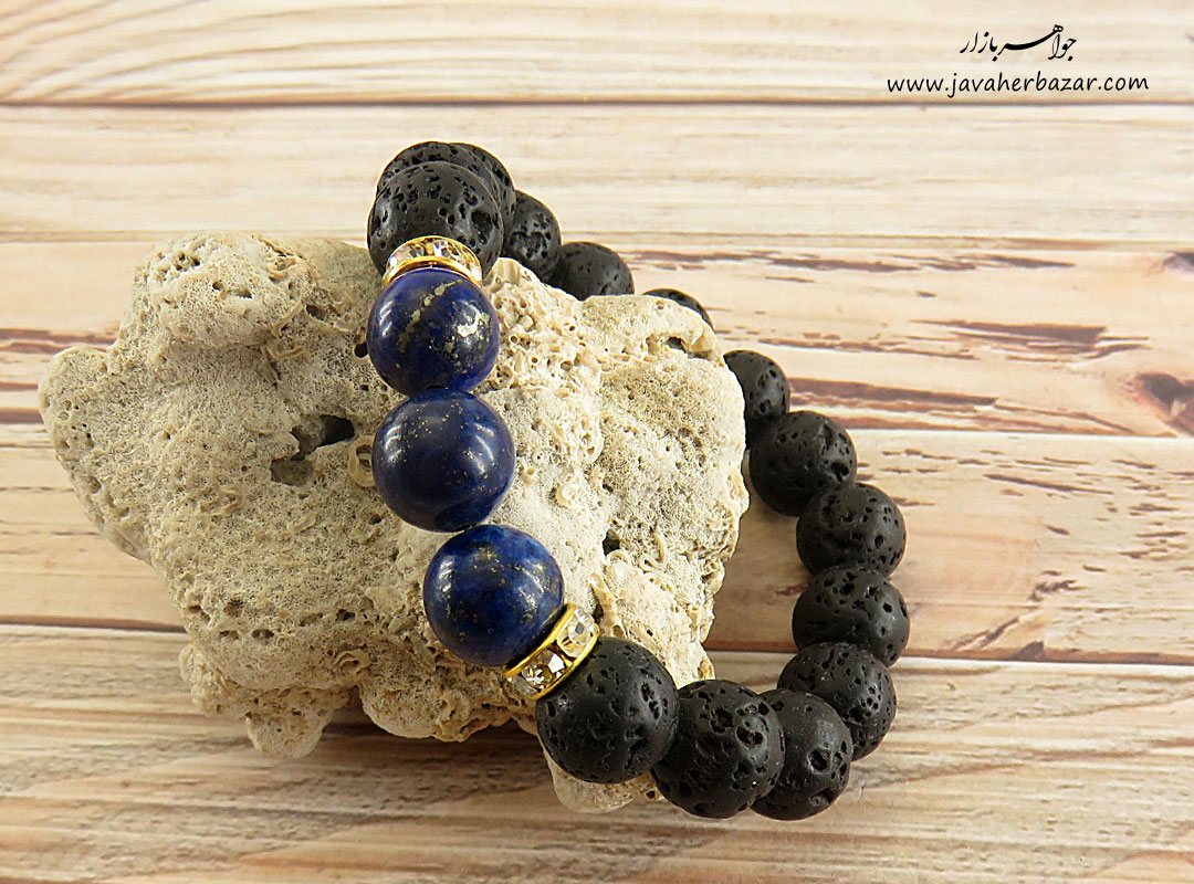 تصویر عکس خرید ، قیمت و خواص دستبند لاوا زنانه اصل