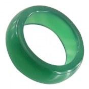 انگشتر عقیق حلقه سنگی سبز