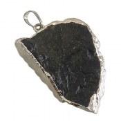 مدال تورمالین راف سیاه زیبا