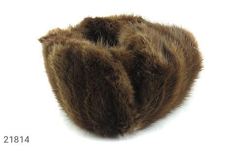 عکس کلاه پوست طبیعی سمور دو رنگ