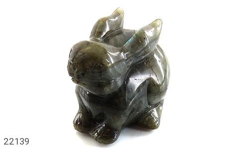 عکس تندیس لابرادوریت طرح خرگوش درشت و فاخر