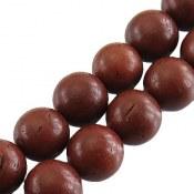 تسبیح کوک (کشکول) 101 دانه قهوه ای تیره سایز درشت