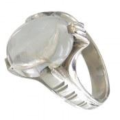 انگشتر در نجف شفاف طرح دامله مردانه