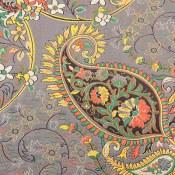 ترمه رومیزی رومیزی سایز بزرگ طرح سنتی روشن