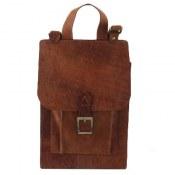 کیف چرم طبیعی دستی یا دوشی زنانه