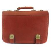 کیف چرم طبیعی دیپلمات طرح رایان