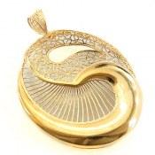 مدال نقره ملیله فاخر زنانه
