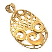 مدال نقره ملیله طرح پگاه زنانه