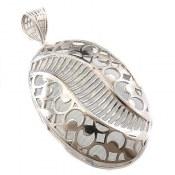 مدال نقره ملیله درشت طرح ارمیا زنانه