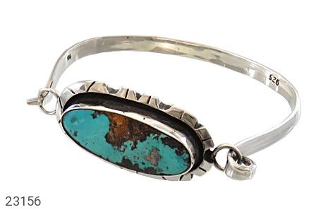 عکس دستبند فیروزه نیشابوری حرز دار و فاخر زنانه