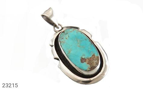 عکس مدال فیروزه نیشابوری فاخر حرز دار