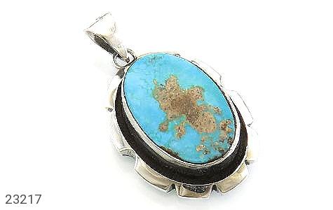 عکس مدال فیروزه نیشابوری ارزشمند حرز دار