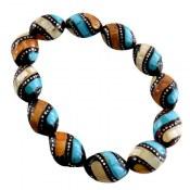 دستبند کوک (کشکول) مرصع درشت و زیبا