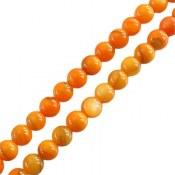 تسبیح صدف 101 دانه زرد سایز متوسط