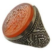انگشتر نقره عقیق یمن مردانه