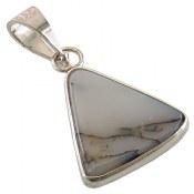 مدال عقیق شجری مثلثی