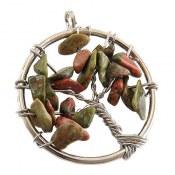 مدال اوناکیت طرح درختچه جذاب زنانه