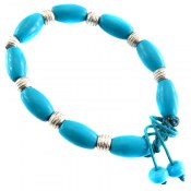 دستبند فیروزه تبتی زنانه