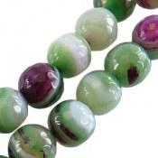 تسبیح عقیق 33 دانه تراش ماداگاسکار درشت سبز