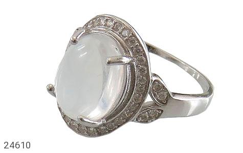 عکس انگشتر نقره در نجف طرح یگانه زنانه
