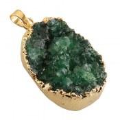 مدال ژئود سبز جذاب زنانه