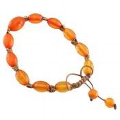 دستبند کهربا پودری زنانه