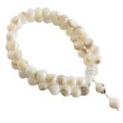 دستبند صدف دو رشته ای زنانه