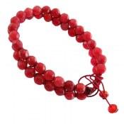 دستبند جید تراش دو رشته ای زنانه