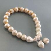 دستبند مروارید سنتاتیک زنانه